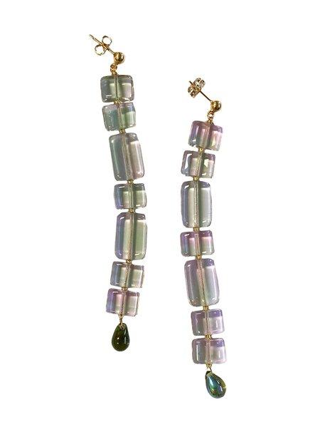 Paloma Wool Lizzie Earrings - Light Green