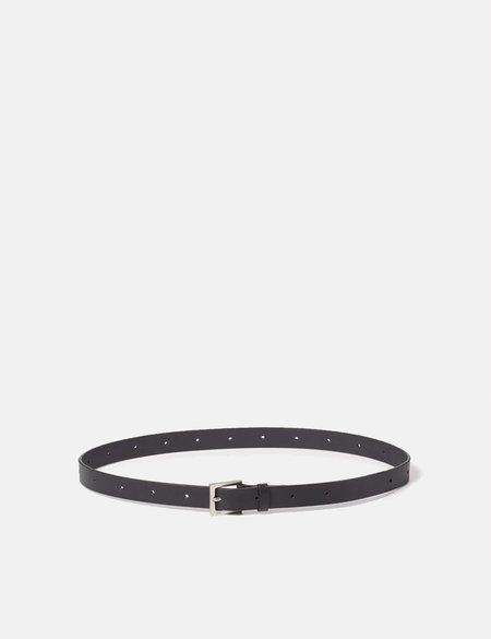 Ally Capellino Arty Leather Belt - Black