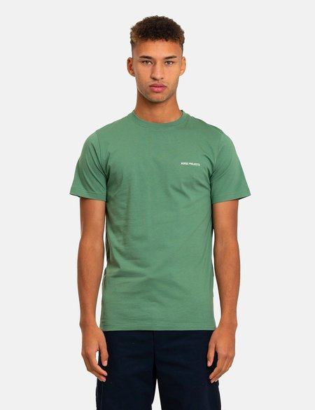 Norse Projects Niels Core Logo T-Shirt - Green