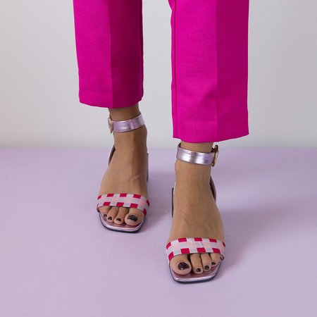 Unreal Fields Lolita Sandals - Lilac/Pink