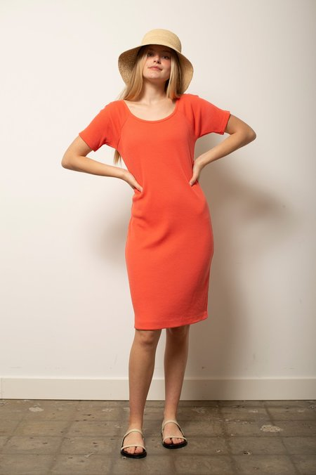 Vintage The Limited Knit Dress - Coral