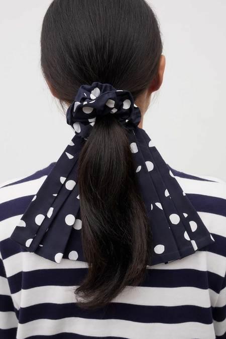 Kowtow Bow Scrunchie - Dots