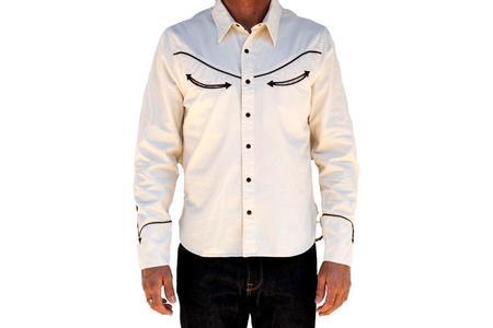 Freenote Cloth HONKY TONK SHIRT - Rambler Natural
