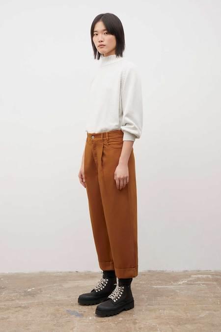 Kowtow Worker Jeans - Brass Denim