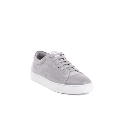 National Standard Edition 3 Low Leather Suede M03-19F-079 SNEAKERS - Grey
