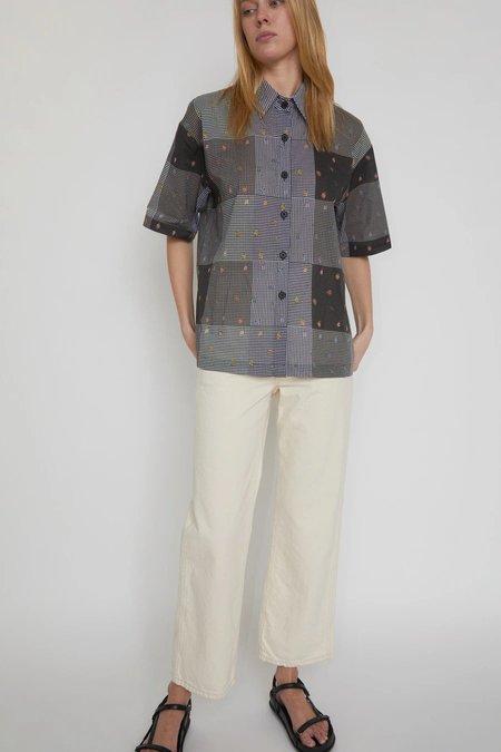 No.6 Leigh Shirt - Patchwork Gingham