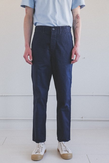Orslow FRENCH WORK PANTS - NAVY