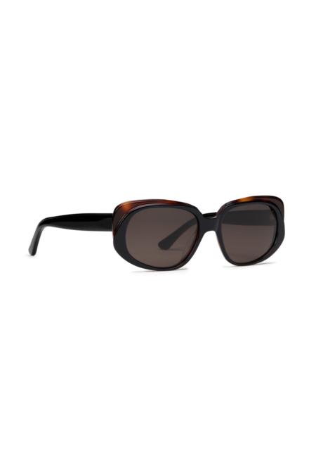 CARLA COLOUR Leia Sunglasses - Black Tort