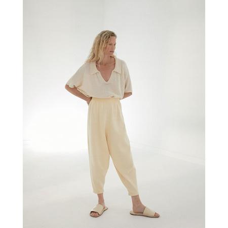 Monica Cordera Knit Pants - Chamomile