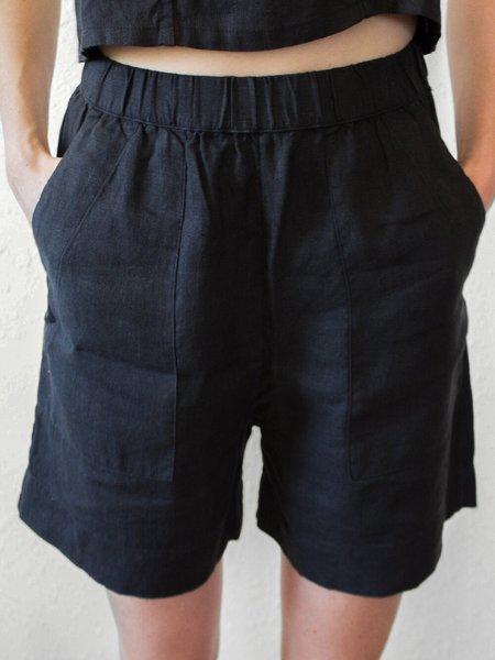 Sugar Candy Mountain Acorn Shorts - Black