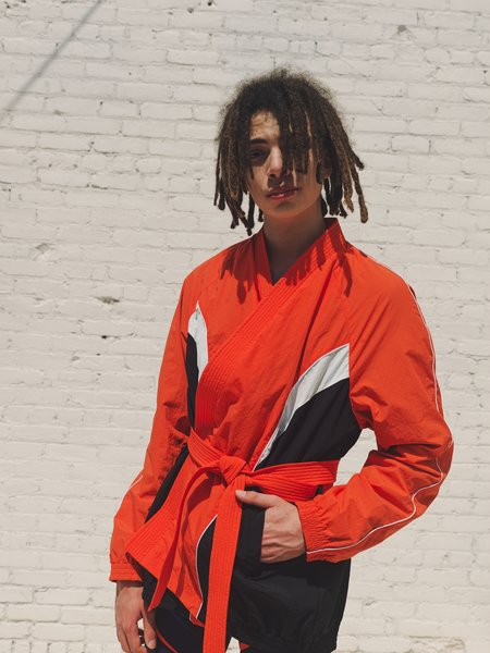 Martine Rose Kimono Trio Track Jacket - Red