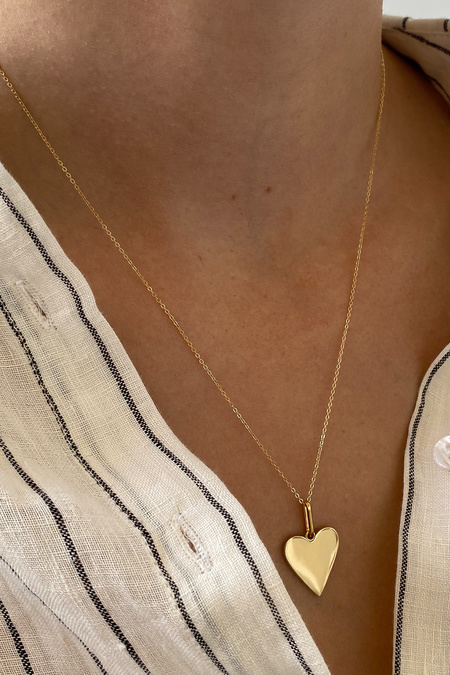 Thatch Amaya Heart Necklace - Gold