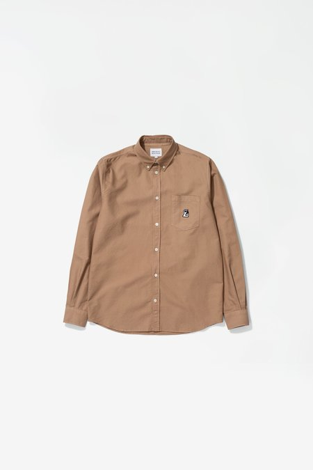 Norse Projects x GM Anton Oxford Shirt - Dark Khaki