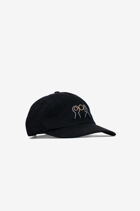 Norse Projects x GM Head Sports Cap - Black