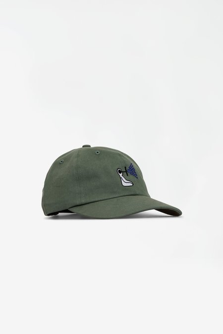 Norse Projects x GM Sports Cap - Thyme Green