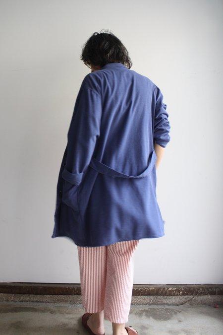 Vintage Long Chore Jacket 2 - Faded Blue Gray