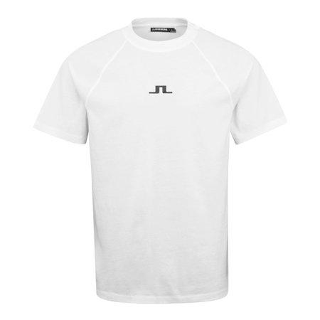 J Lindeberg Davin Logo T-Shirt - White