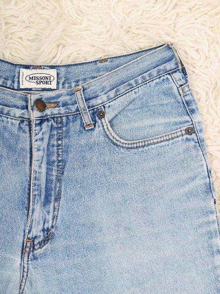 Vintage missoni 90s sport jeans - mid-wash