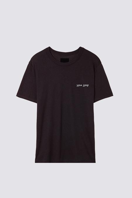 Assembly New York Chest Logo T-Shirt - Black