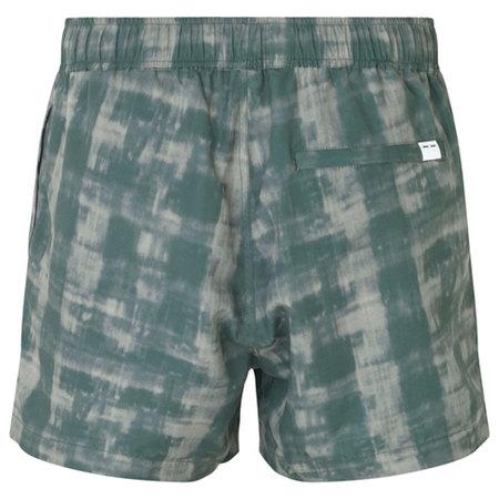 Samsoe Samsoe Mason Swim Shorts Aop - Seagrass Shibori