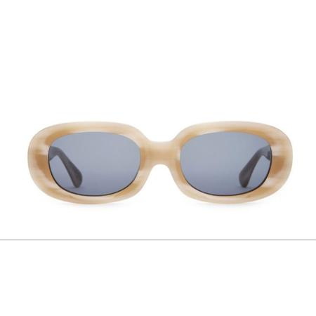 Unisex Crap Eyewear The Bikini Vision - Bone White