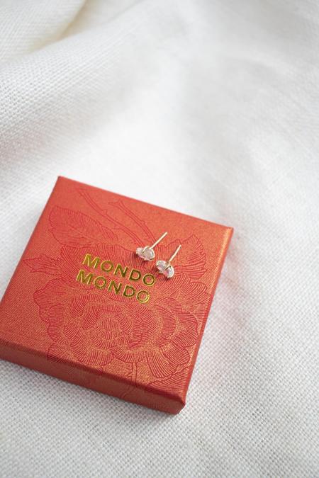 Mondo Mondo Guinevere 14K Stud Earring - Moonstone
