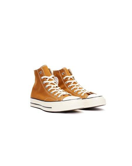 CONVERSE Chuck Taylor All Star '70 HI Recycled Canvas Shoes - Dark Soba/Egret/Black