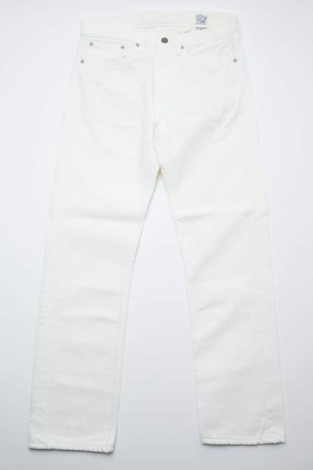 orSlow 107 Ivy Fit Slim Jean - White