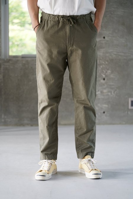 Orslow New Yorker Pants - Army Green