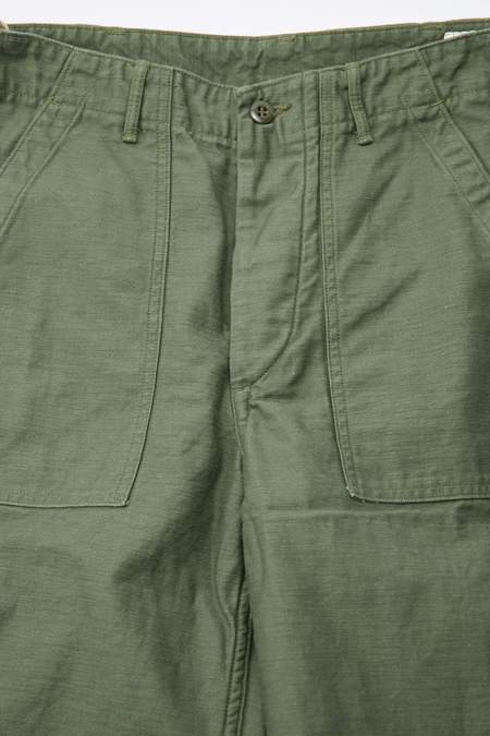 OrSlow Regular Fit Fatigue Pants - Green