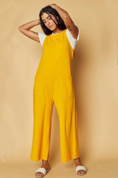 back beat rags Organic Cotton Everyday Jumpsuit - Honey