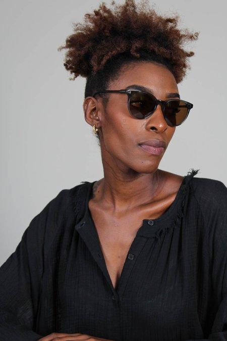 Raen Norie Polarized Sunglasses - Slate/Vibrant Brown