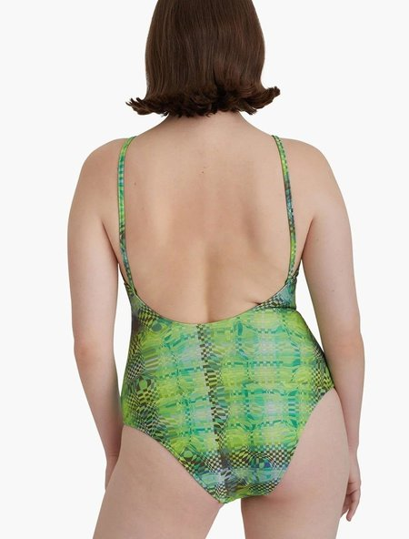Paloma Wool no 833 Belmonte swimsuit - Shiny green