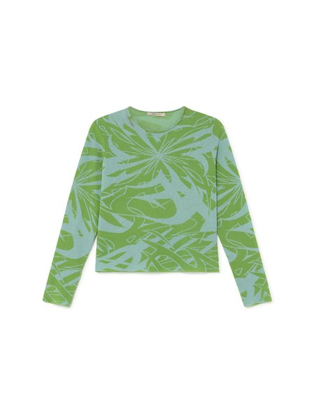 Paloma Wool Xque Long Sleeve - Blue/Green