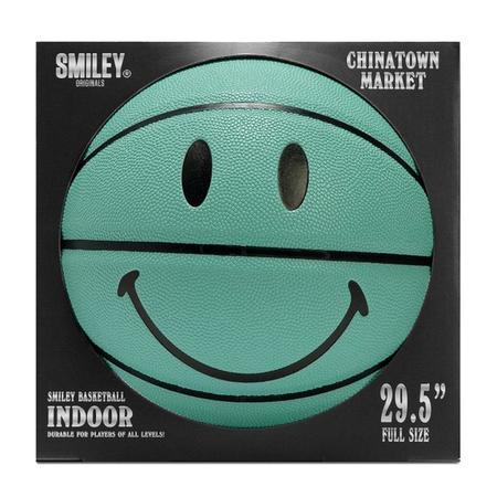 Chinatown Market Smiley Breakfast Basketball - Teal