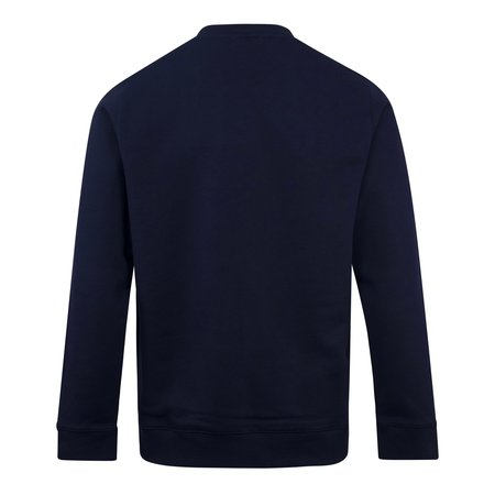 Norse Projects Vagn Logo Crewneck Sweater - Navy