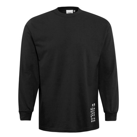 Parlez Haber LS T-Shirt - Black