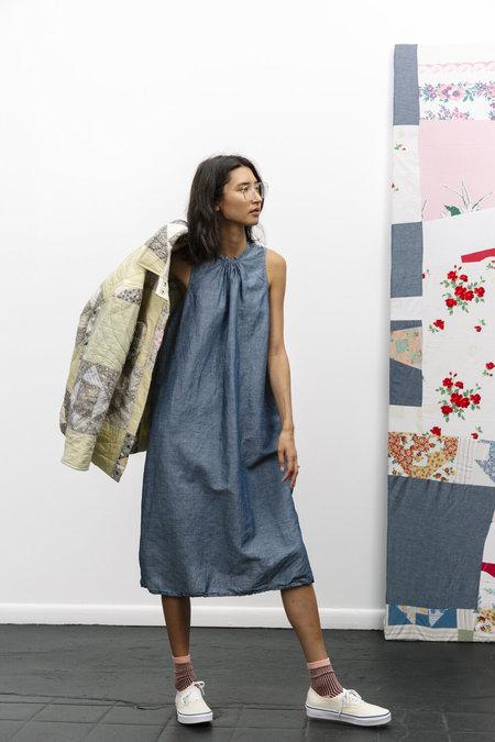 Carlee Virginia Dress - Washed Chambray