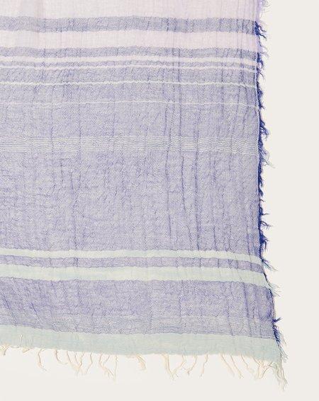 Tamaki Niime Big Roots Shawl - Lavender