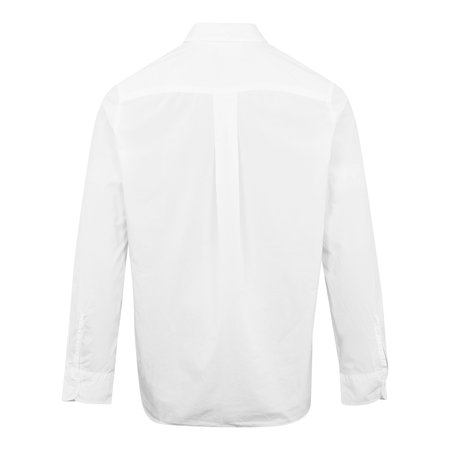 Kenzo Tiger Crest Garment Dyed Cotton Shirt - White