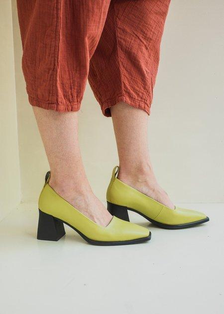 Vagabond Hedda Pumps - Golden Green