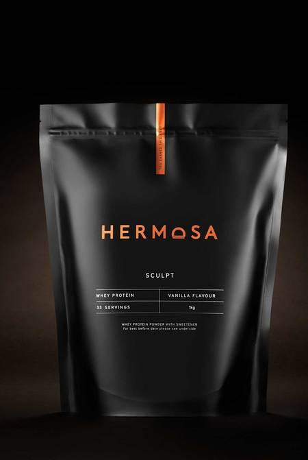 Hermosa 1kg Pouch Vanilla Whey Protein Powder