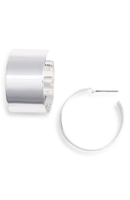 Jenny Bird Fundamentals earrings - Silver