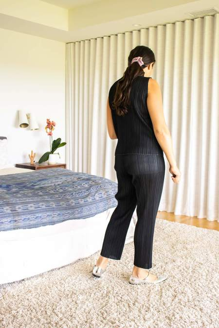 Pleats Please by Issey Miyake Basics Shirt - Black