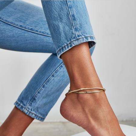 Jenny Bird Priya Anklet - Gold