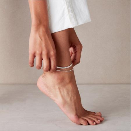 Jenny Bird Priya Anklet - Silver