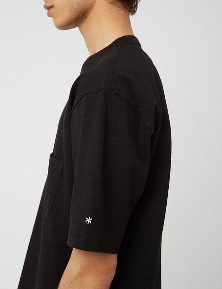 Snow Peak Heavy Cotton T-Shirt - Black