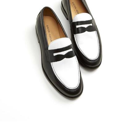 Sister X Soeur Mabel loafers - Black/White