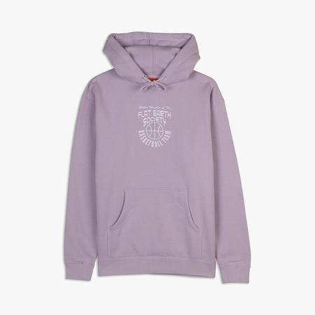 Cold World Frozen Goods Flat Earth Basketball Team Hoodie - Lavender