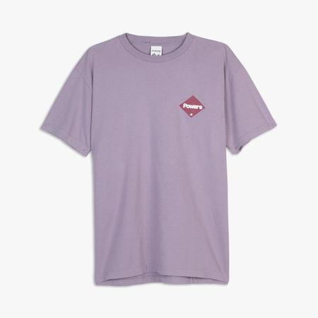 Powers Diamond Logo T-shirt - purple